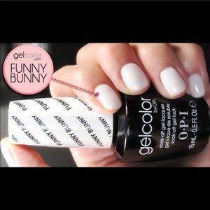 OPI Gelcolor Funny Bunny gel polish